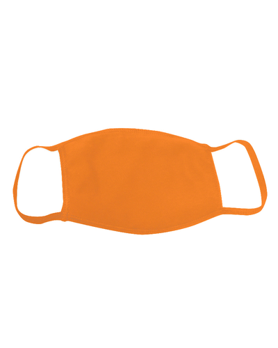 ********MADE IN THE U.S.A********* Reusable 100% Cotton Face Mask, Orange 1 count
