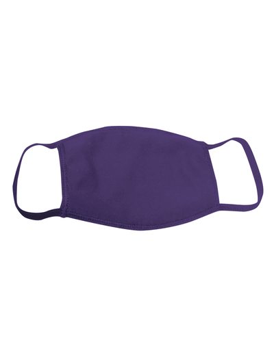 ********MADE IN THE U.S.A********* Reusable 100% Cotton Face Mask, Purple 1 count