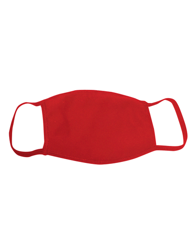 ********MADE IN THE U.S.A********* Reusable 100% Cotton Face Mask, Red 1 count