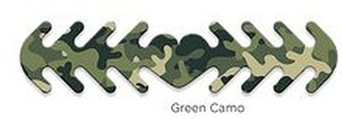********MADE IN THE U.S.A********* Reusable Mask Backer, Green Camo 1 count