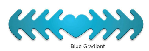 ********MADE IN THE U.S.A********* Reusable Mask Backer, Blue Gradient 1 count