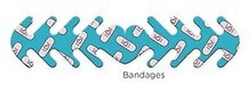 ********MADE IN THE U.S.A********* Reusable Mask Backer, Bandages 1 count