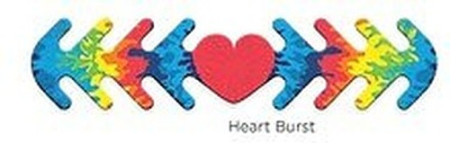 ********MADE IN THE U.S.A********* Reusable Mask Backer, Heart Burst 1 count