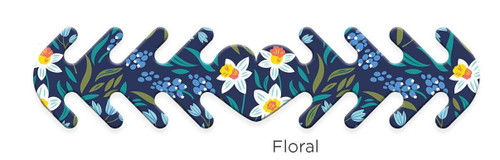 ********MADE IN THE U.S.A********* Reusable Mask Backer, Floral 1 count