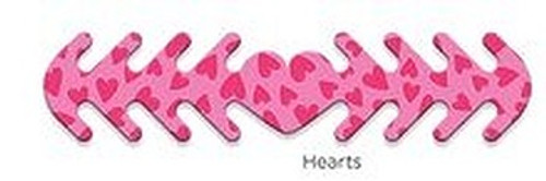 ********MADE IN THE U.S.A********* Reusable Mask Backer, Hearts 1 count