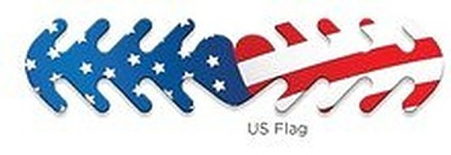 ********MADE IN THE U.S.A********* Reusable Mask Backer, US Flag 1 count