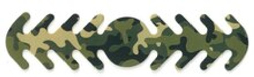 ********MADE IN THE U.S.A********* Reusable Mask Backer, Green Camo Circle 1 count