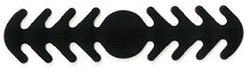 ********MADE IN THE U.S.A********* Reusable Mask Backer, Black Circle 1 count