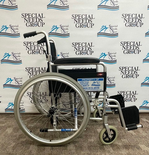 Certified  Pre-Owned Lightweight Aluminum Wheelchair BUY/FINANCE