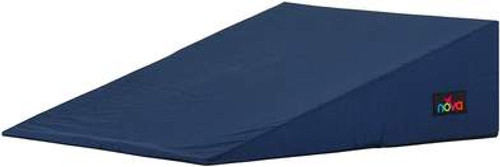 Medical Bed Wedge with Removable Cover - Navy