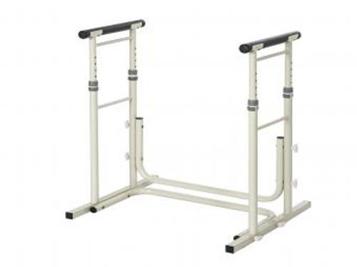 Height Adjustable Standing Toilet Rails