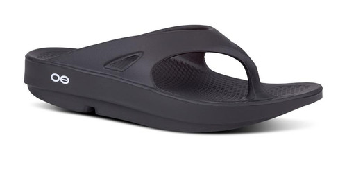 OOFOS - Unisex OOriginal - Post Exercise Active Sport Recovery Thong Sandal - Black