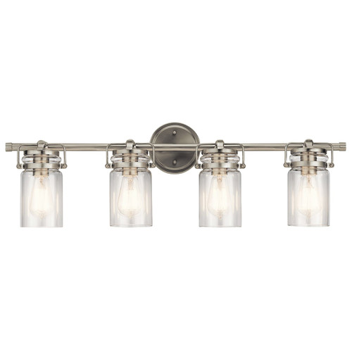 "Kichler 45690NI Brinley 4 Light 32-1/4"" Wide Bathroom Vanity Light"