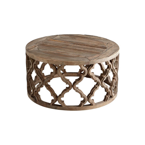 Cyan Design 06559 Sirah 30.5 Inch Diameter Wood Coffee Table