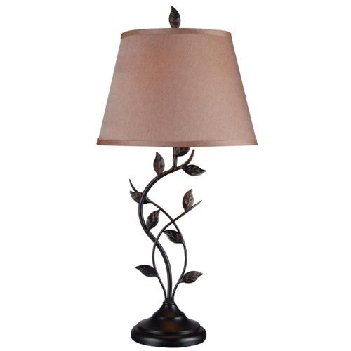 Kenroy Home 32239ORB Ashlen 1 Light Table Lamp