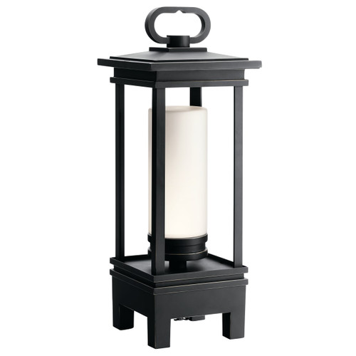 Kichler 49473RZLED South Hope Portable LED Lantern with Bluetooth Speaker