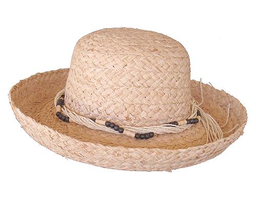 87ba7c2e5 Crochet Raffia - Natural Trim (2697) - Wallace Headwear