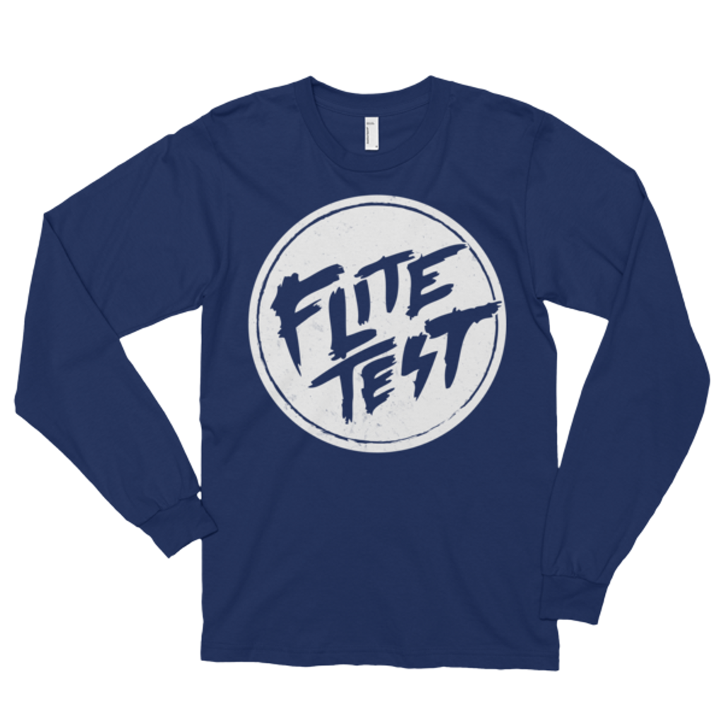 Flite Test Circle Logo Long sleeve T-Shirt