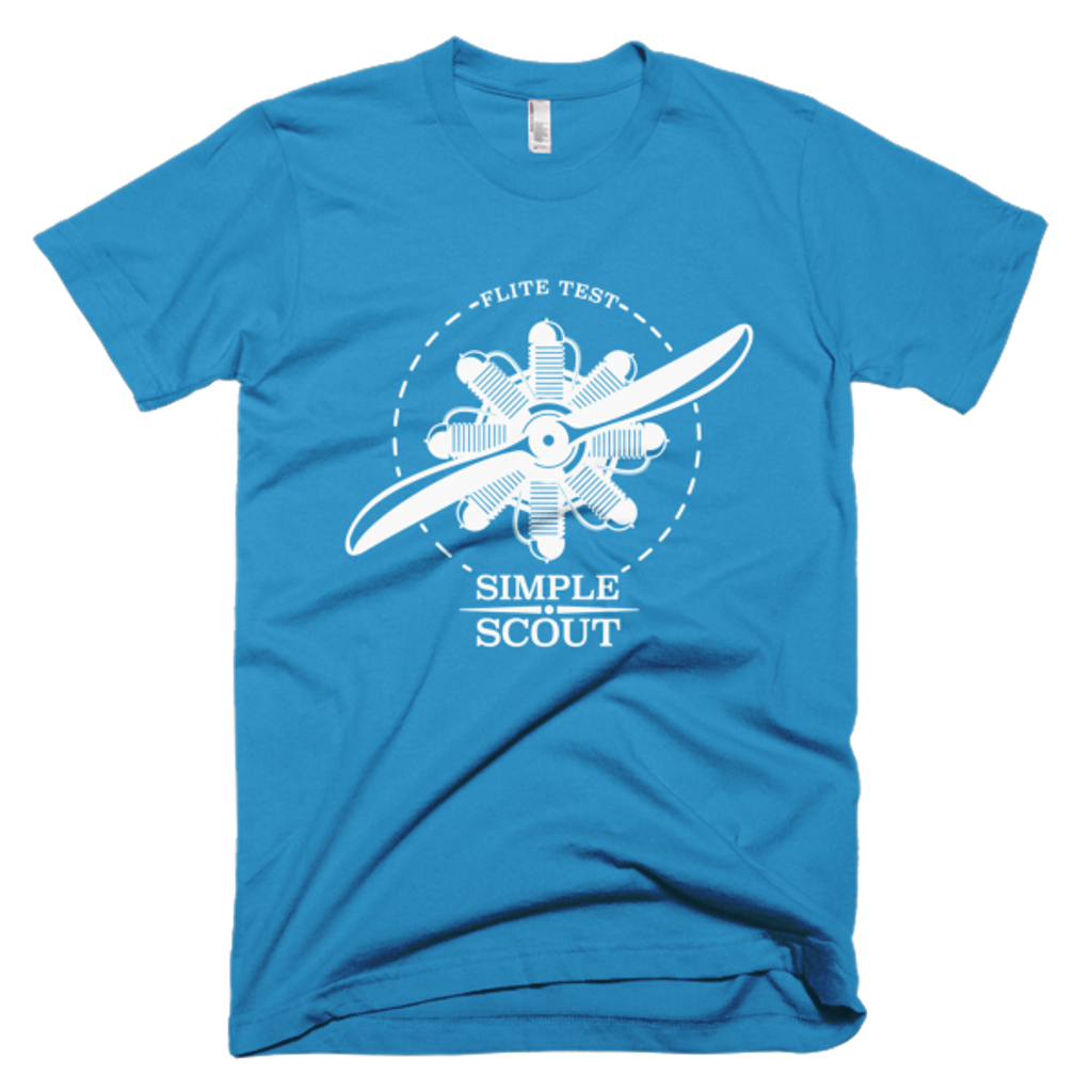 Simple Scout logo Short-Sleeve T-Shirt