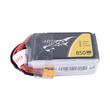 Tattu 850mAh 14.8V 75C 4S1P Lipo Battery Pack with XT-30 plug