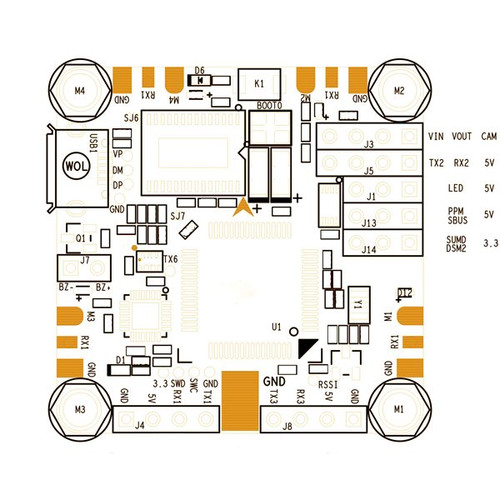 Betaflight F4 Flight Controller (r)