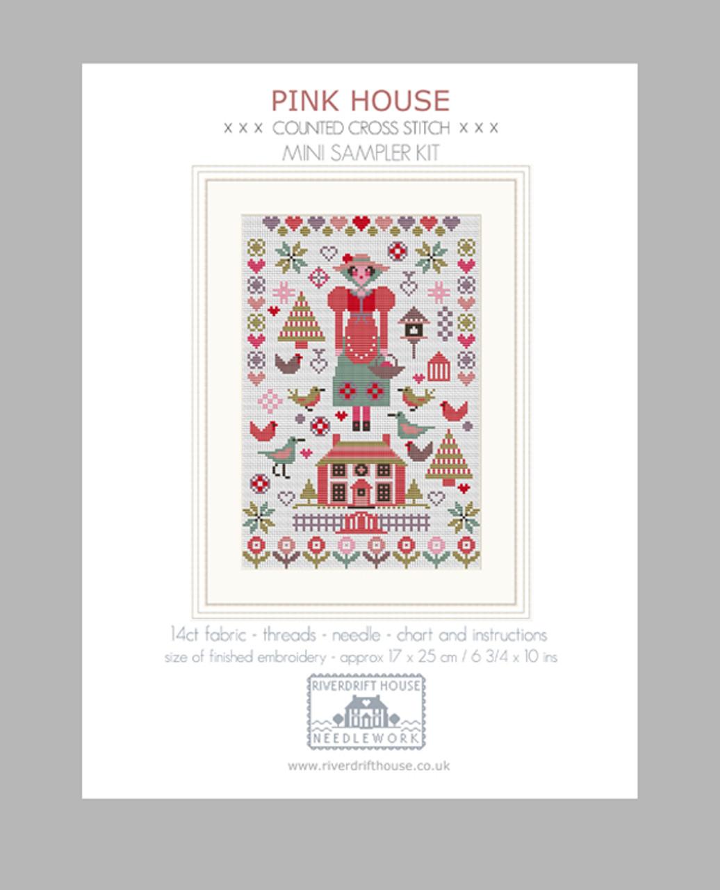 MINI AUTUMN COUNTED CROSS STITCH KIT by RIVERDRIFT HOUSE