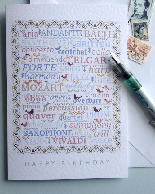 BIRTHDAY GREETINGS CARD Musical Sampler