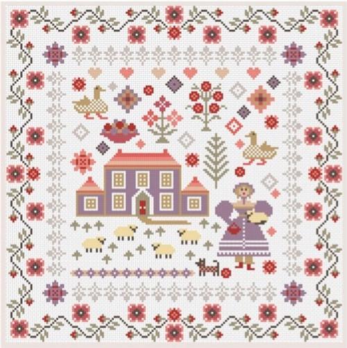RIVERDRIFT CHART PACK Lavender House Sampler
