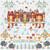 CROSS STITCH KIT 14ct AIDA Royal Christmas at Sandringham