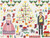 CROSS STITCH KIT 14ct AIDA Christmas Victoria & Albert