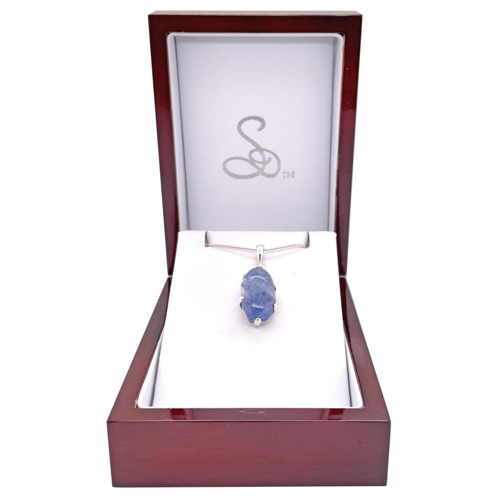 Blue Dumortierite Pendant (SB1721)