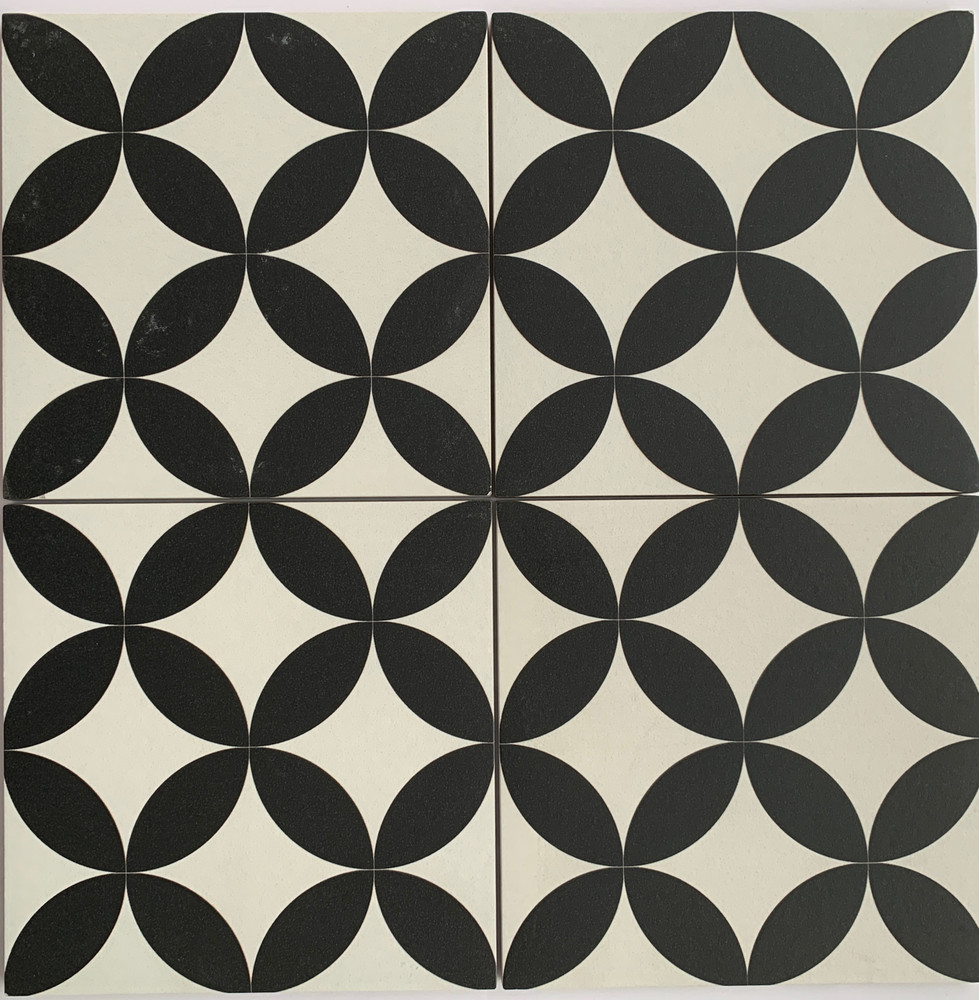 Sample of Prism Black Wall and Floor Tile