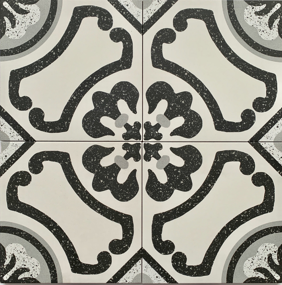 Colonial Porcelain Wall and Floor Tile 205mm