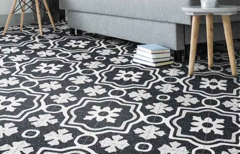 Formia Porcelain Terrazzo Look Tile 205mm