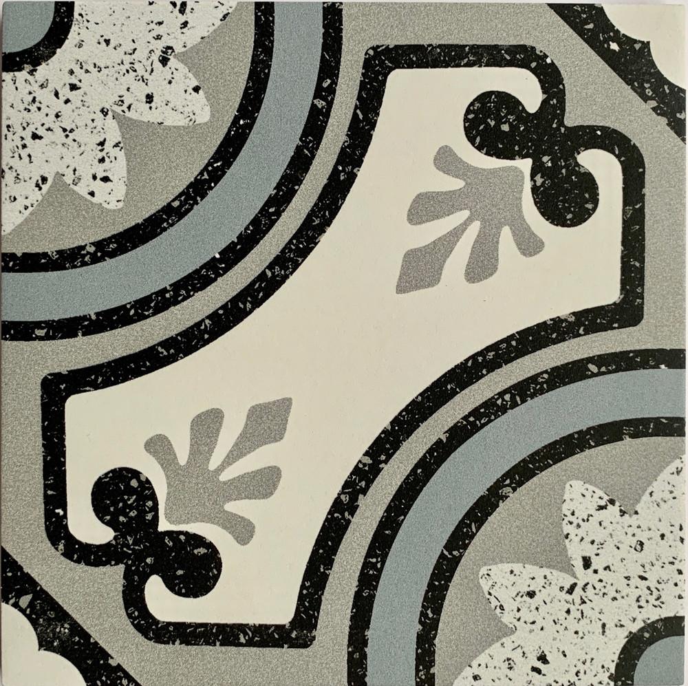 Bari Terrazzo Look Porcelain Tile 205mm