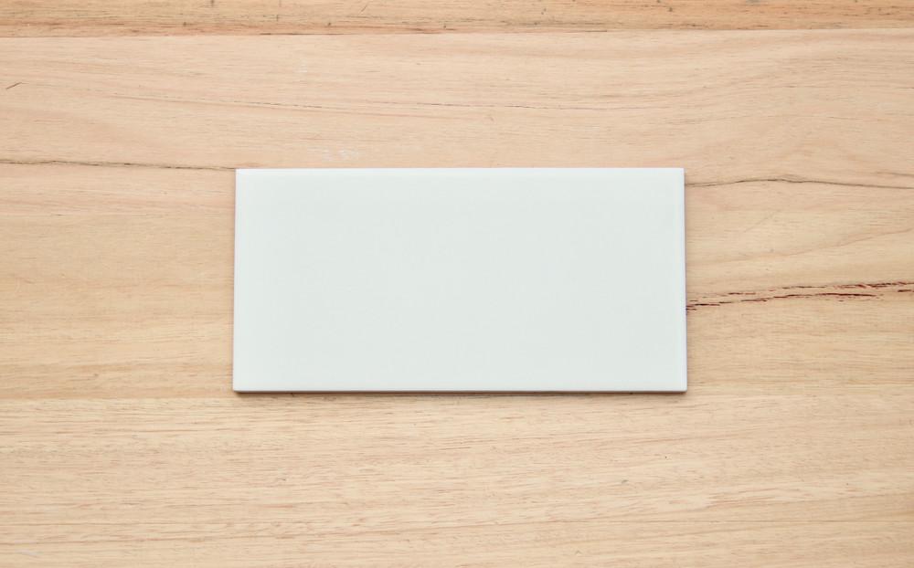 200x100mm Matt White Wall Tile