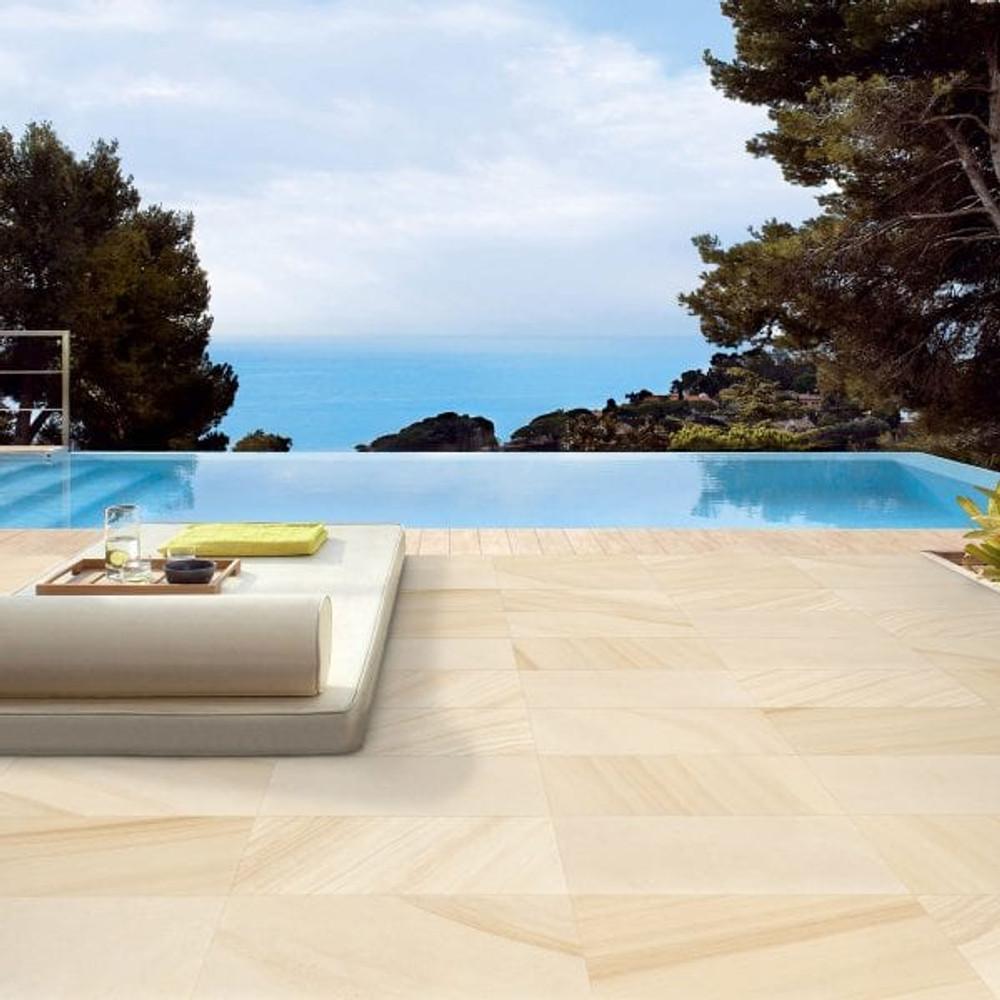 Sandstone Look  Porcelain OutdoorTile