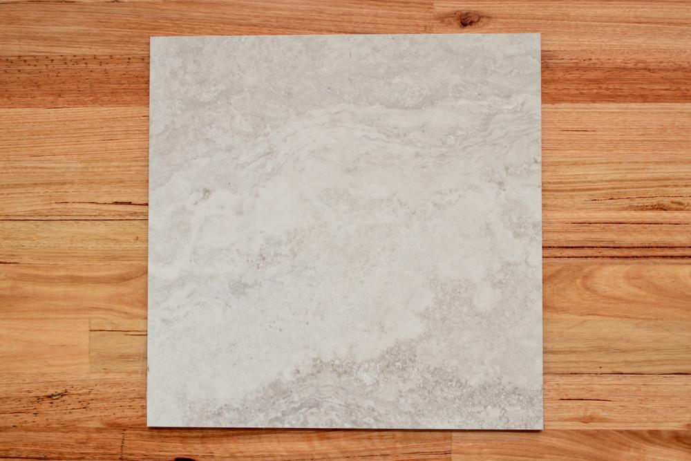 Silver Travertine Porcelain External Tile