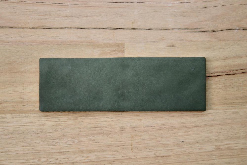 Evergreen Matt Subway Tile 200x65mm