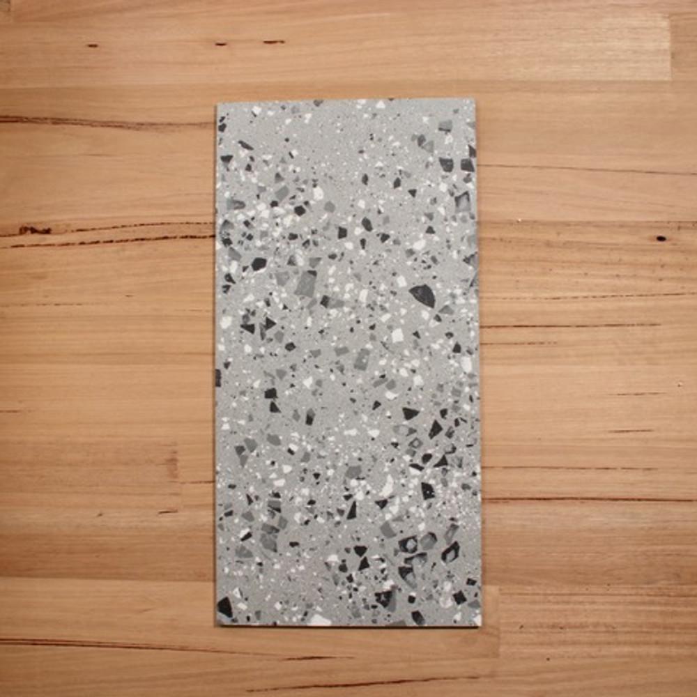 Terrazzo Grey Porcelain 600x300mm