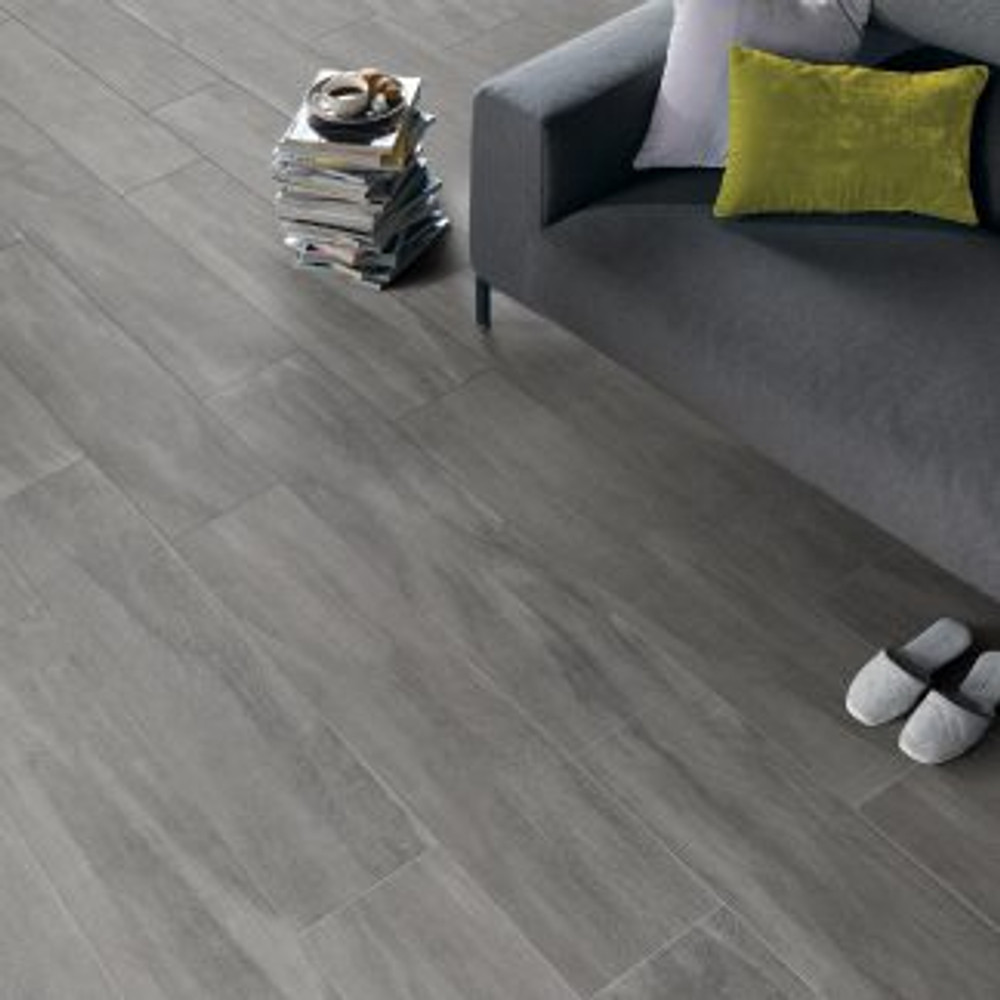 Ever Forest Grey Timber Look Tiles