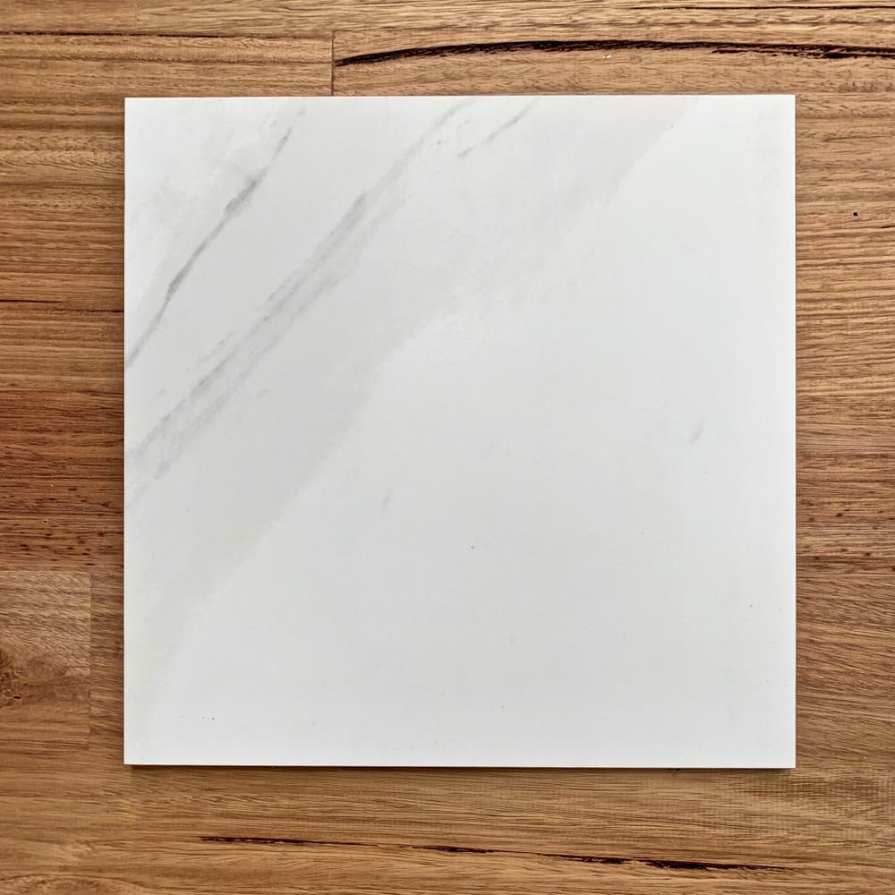 Calacatta Marble Look Porcelain Wall and Floor Tiles - Matt