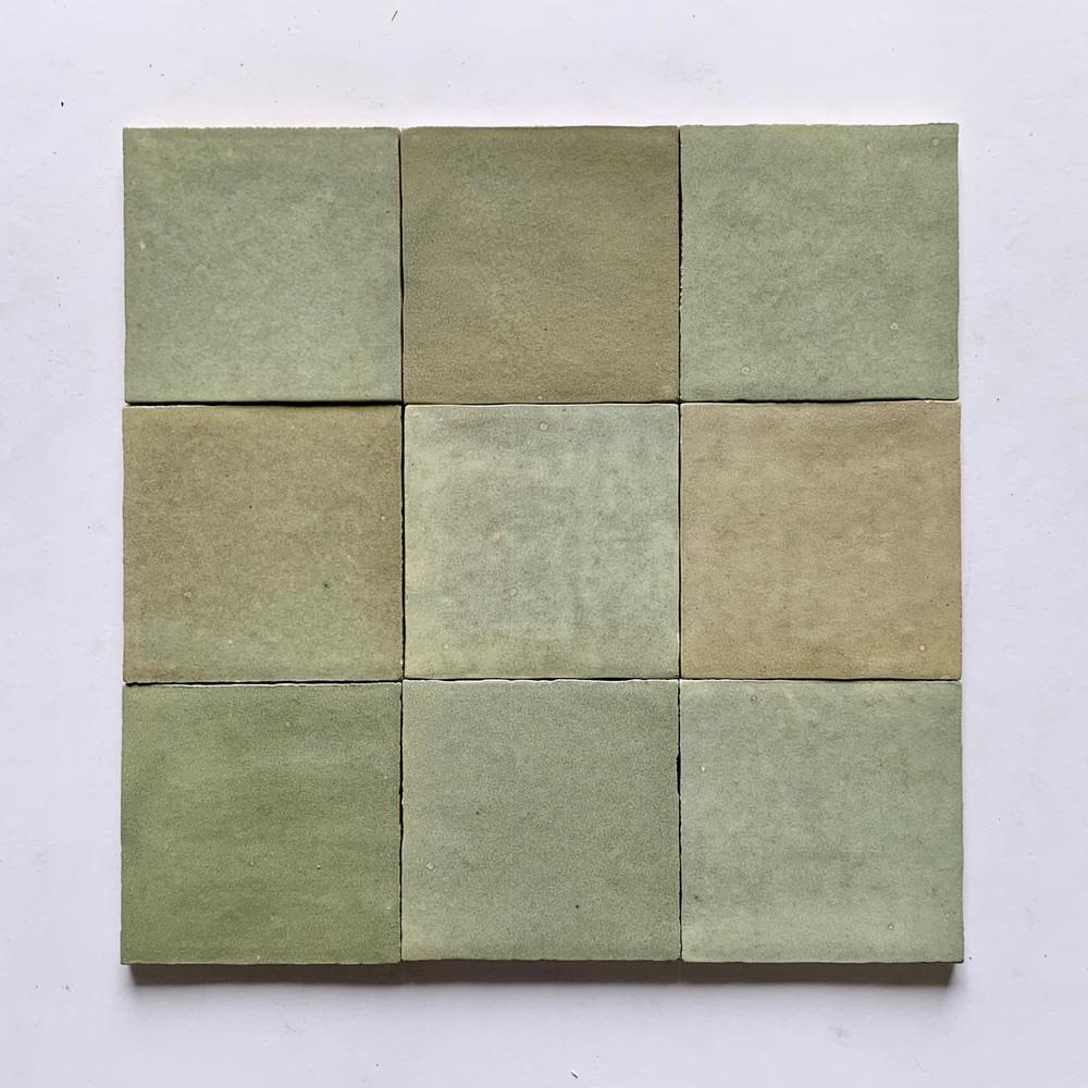 Zellige Salvia Gloss Wall Tile