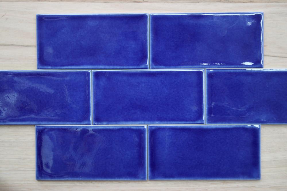 Dark Blue Craquelle Tile