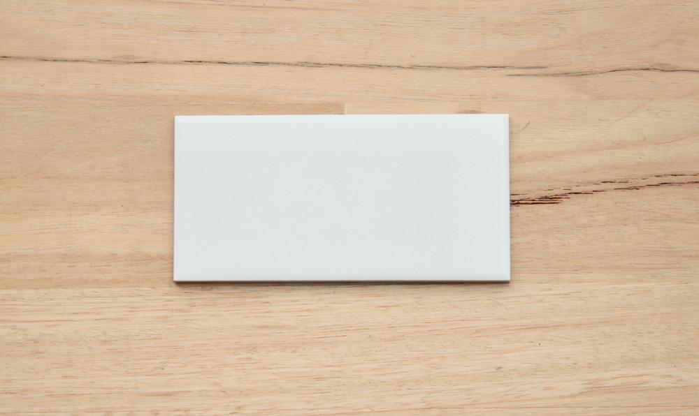 150x75mm non rectified matt white