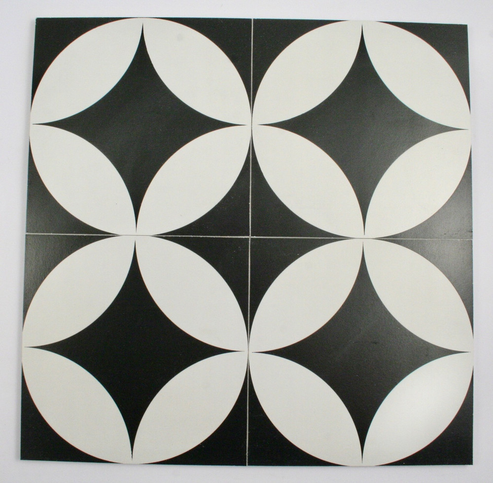 Large Round Keys Wall and Floor Tile 200mm