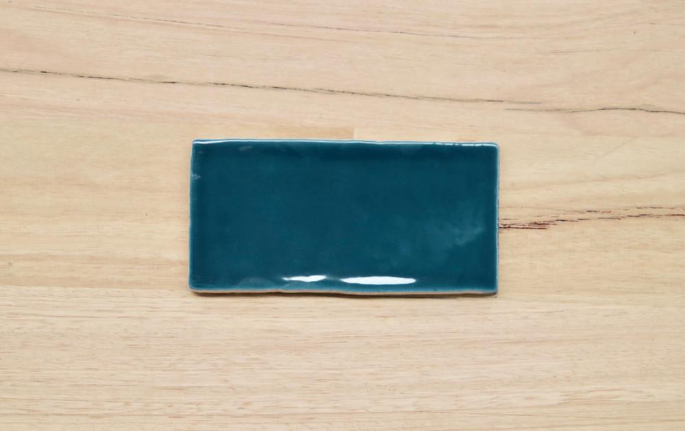 Barcelona Saffire Blue Subway Tile 150x75mm
