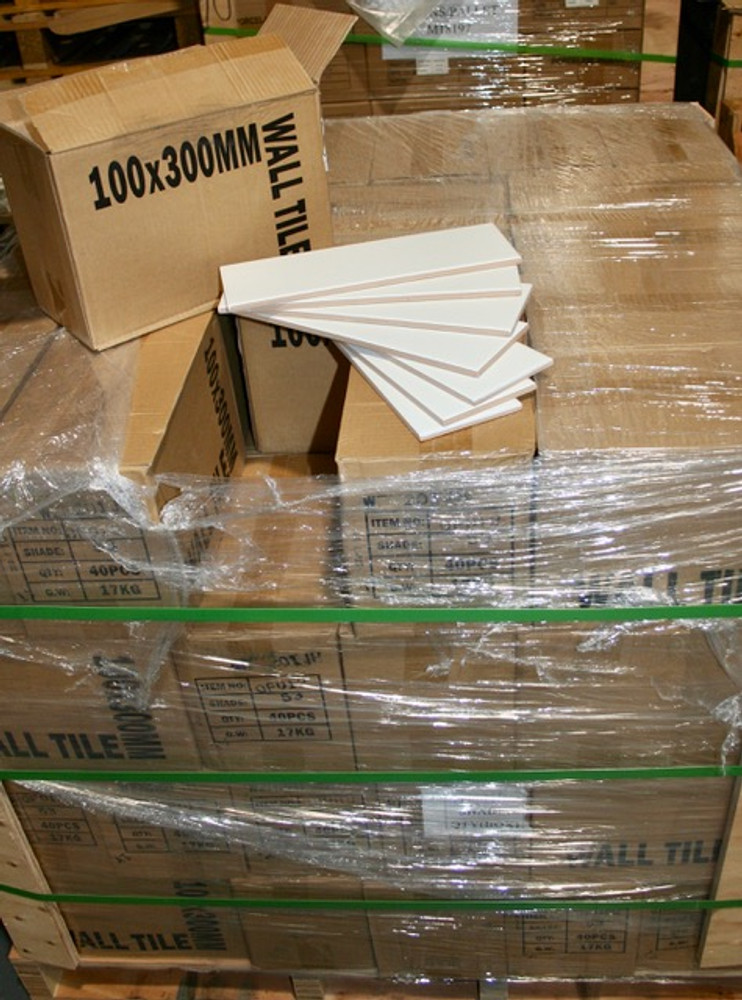 Stock in our warehouse ready for dispatch or collection.  Bulk discounts available.