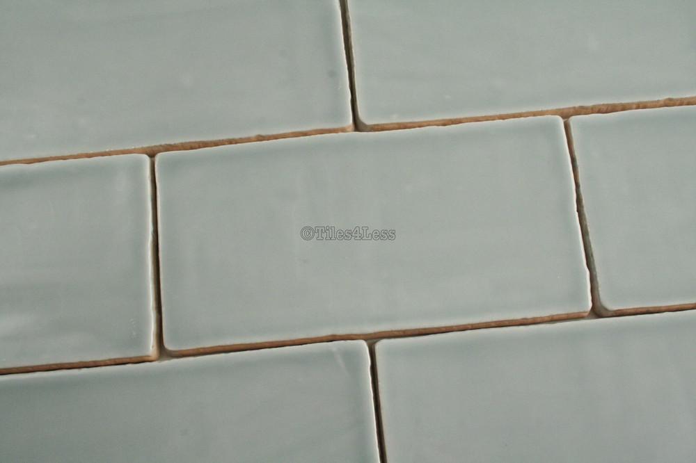 150x75mm Handmade style ocean subway wall tile