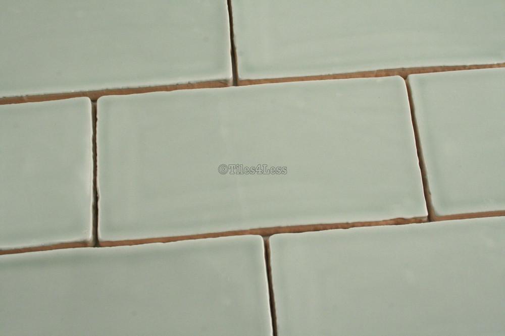 150x75mm Barcelona Menta subway wall tile